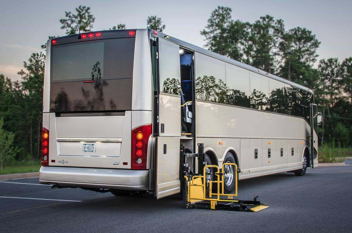 ADA Bus ♿ - 14 to 56 Passengers Image