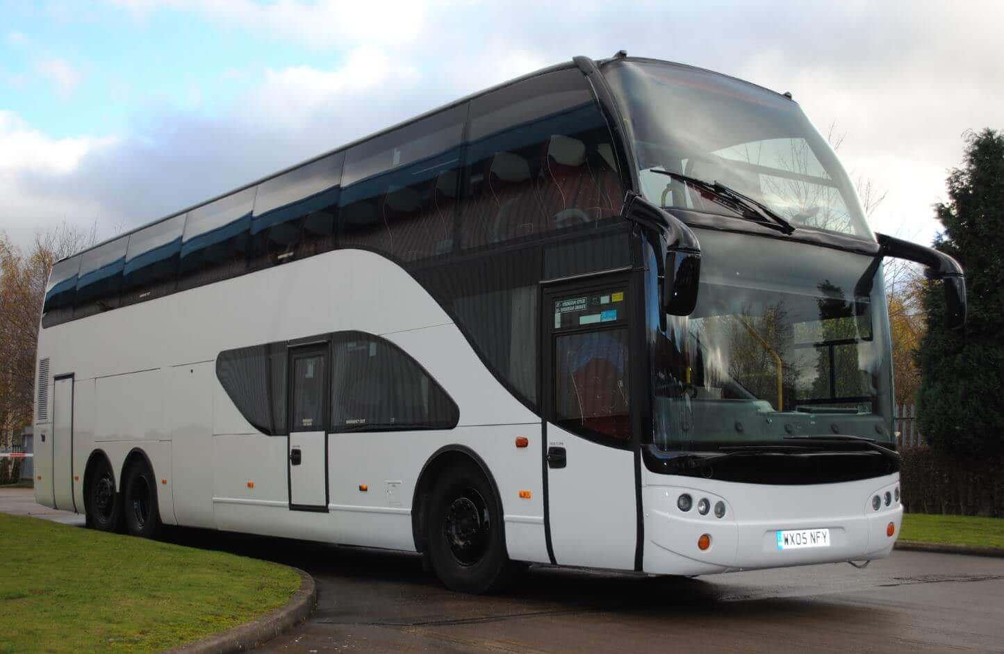 Double Decker Bus - 60 to 81 Passengers Image